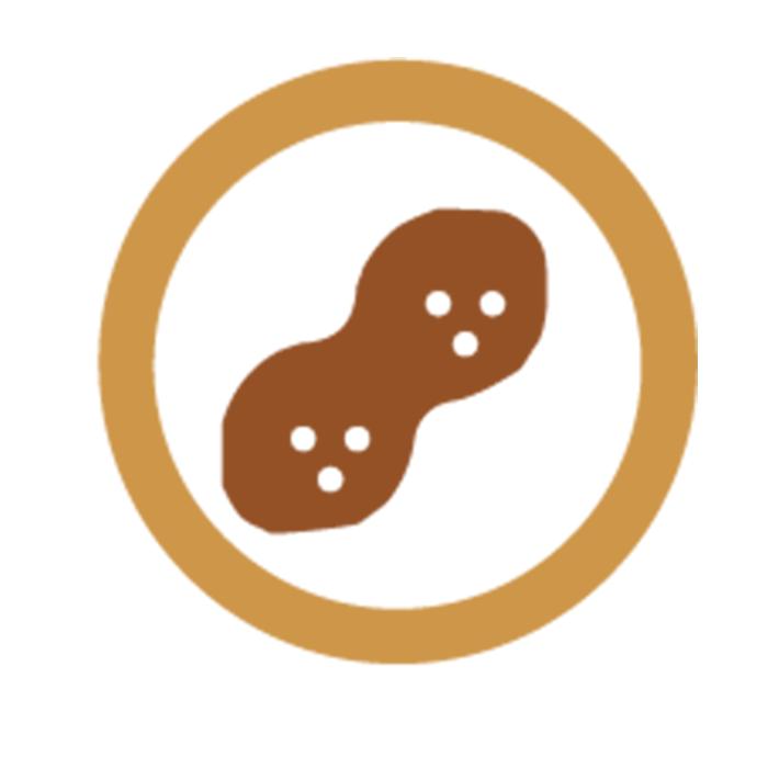 trazas<br>de<br>cacahuete