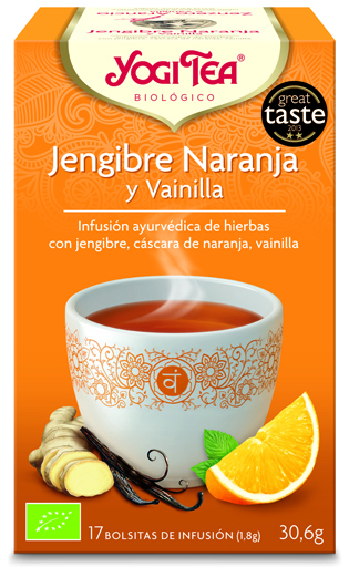 Ginger Tea With Orange And Vanilla Gluten Free Bio Yogi Tea 30 G Socialgluten
