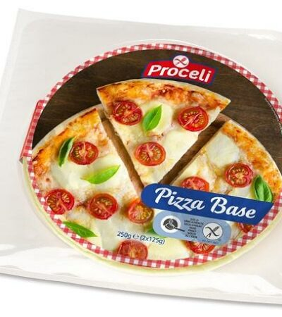BASE DE PIZZA SIN GLUTEN PROCELI