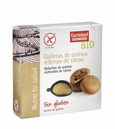 Galletas De Quinoa Rellenas De Cacao Bio Sin Gluten Germinal 200 GR.