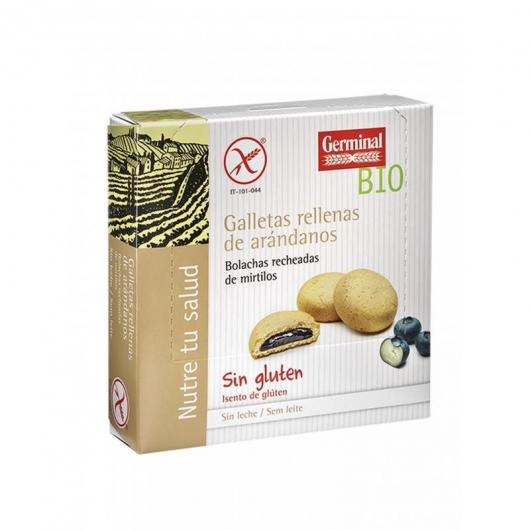 Galletas Rellenas De Crema De Arandanos Bio Sin Gluten Germinal 200 GR.