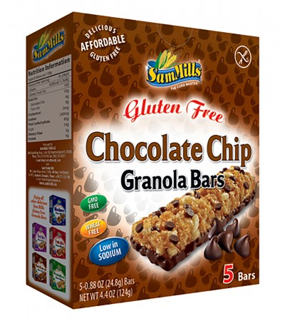 comprar-barritas chocolate chip-sammills