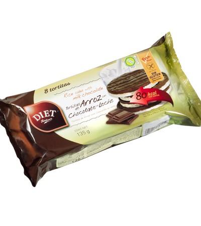 comprar-tortitas arroz chocolate-diet radisson