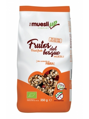 MUESLI CON FRUTOS DEL BOSQUE SIN GLUTEN BIO THE MUESLI UP