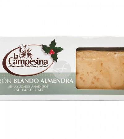 comprar-turron-artesano-blando-almendra-sin-gluten-sin-azucar-la-campesina-185-g