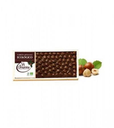 comprar-turron-chocolate-con-avellanas-sin-gluten-eco-artesano-la-campesina