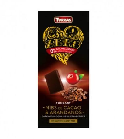 chocolate-negro-con-nibs-de-cacao-y-arándanos-sin-azúcar-zero