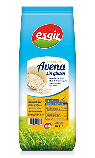 COPOS DE AVENA SIN GLUTEN 450GR ESGIR