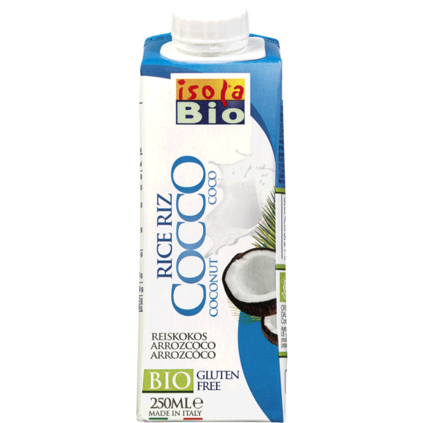 LECHE ARROZ COCO BIO 250ML ISOLA BIO