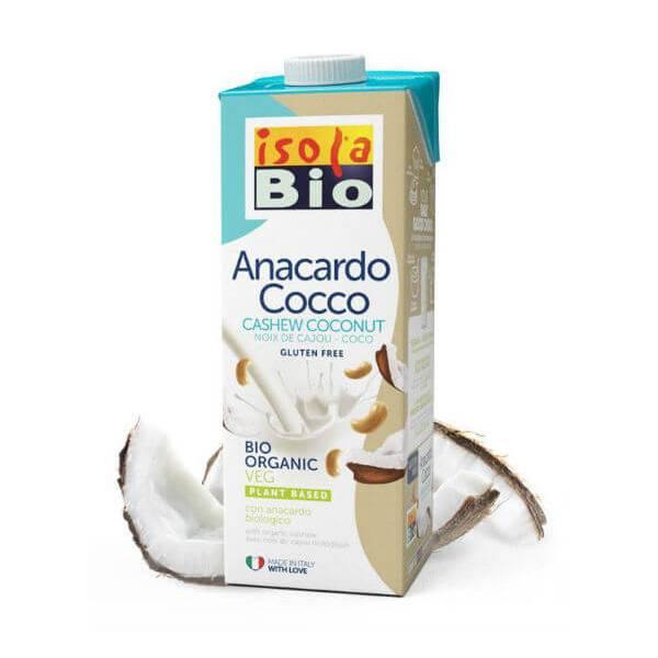LECHE DE ANACARDOS Y COCO BIO ISOLA BIO