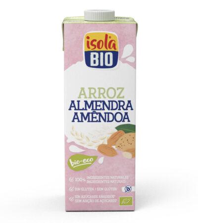 LECHE DE ARROZ Y ALMENDRAS BIO 1L ISOLA BIO