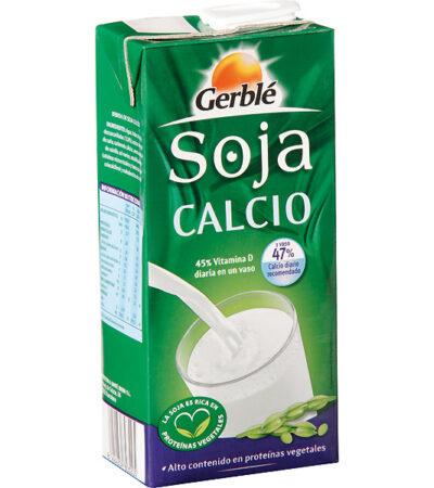 LECHE SOJA CALCIO 1L GERBLE