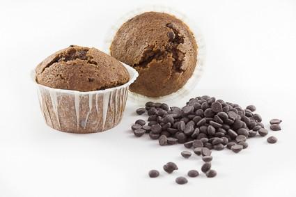 MAGDALENAS DE CHOCOLATE SIN GLUTEN SINBLAT