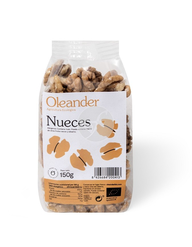 NUECES BIOLOGICAS 150GR OLEANDER