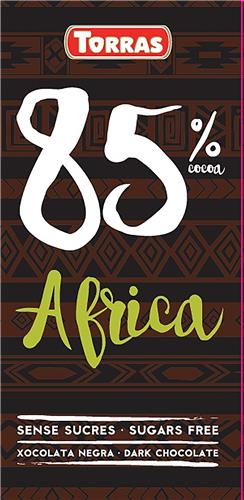 chocolate 85% cacao africa